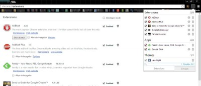 Get a Better Extension Manager In Chrome With SimpleExtManager