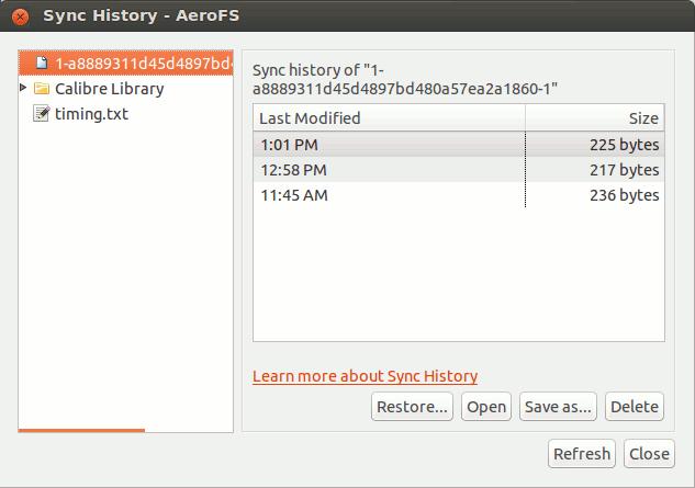 aerofs-sync-history