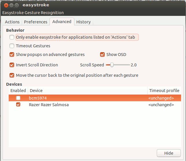 easystroke-advanced-tab