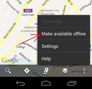 google-maps-make available-offline