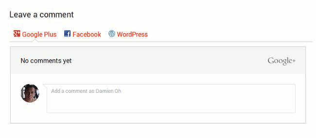 google-plus-comments-frontend