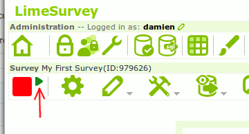 limesurvey-activate-survey