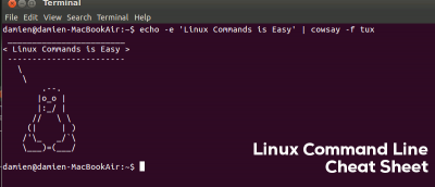 Linux Command Line Cheat Sheet + Download