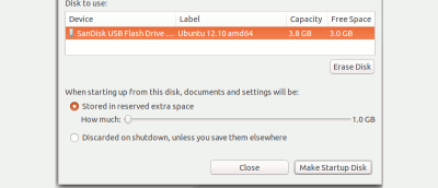 The Differences Between Persistent Live USB and Full Linux Install on USB
