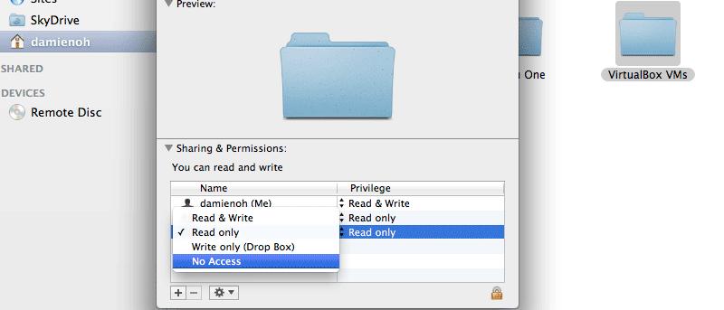 How to Make a Folder Private in Mac OS X