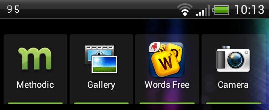 add a smart homescreen shortcut with methodic widget