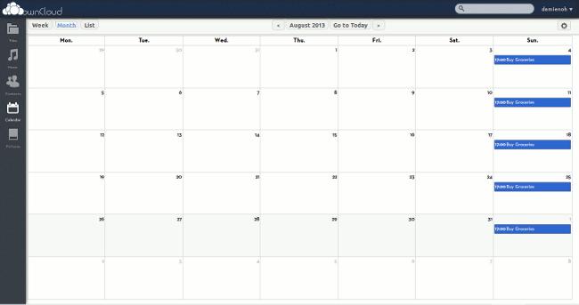 owncloud-calendar-view