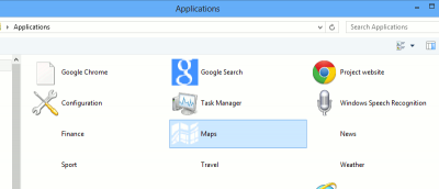 Launch Apps Directly From the Desktop in Windows 8