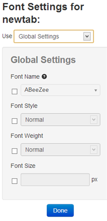 font-changer-global-settings