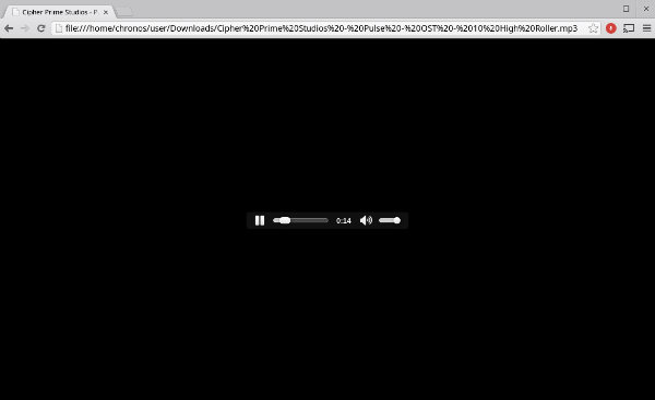 ChromecastLocal-Audio