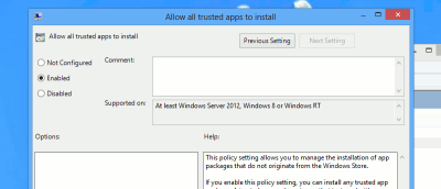 How to Install Windows 8 Apps Without the Windows Store