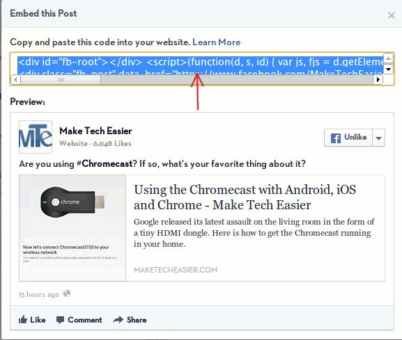 facebook-embed-post-code
