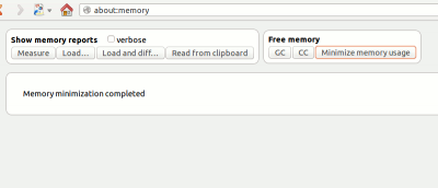 Quickly Minimize Memory Usage in Firefox (Without Installing Another Addon)