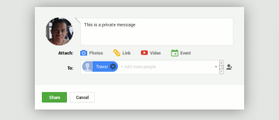 How to Send a Private Message in Google Plus