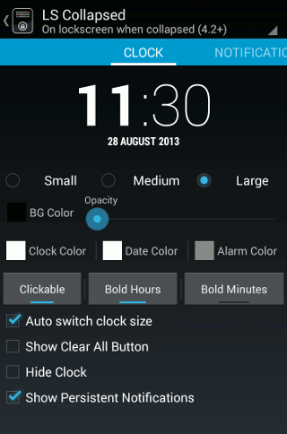 lockscreen-notification-clock-configuration