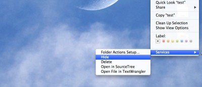 How to Easily Hide A File/Folder In Mac