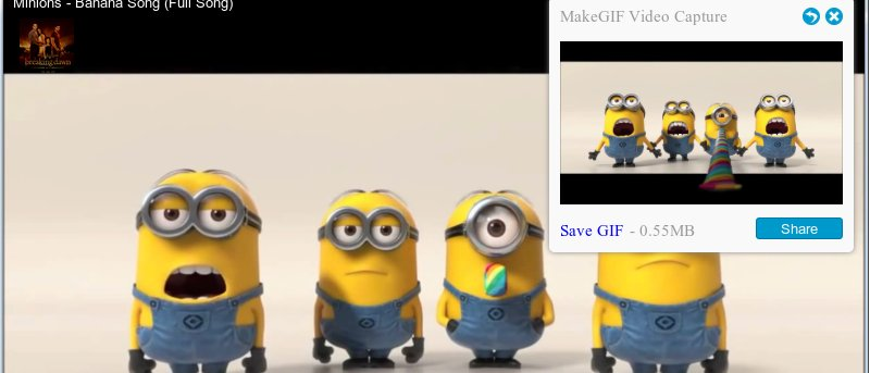 Create Animated Gifs From YouTube Videos