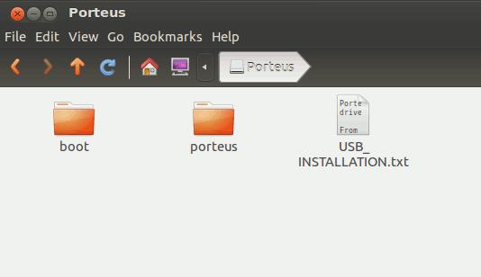 porteus-iso-folders