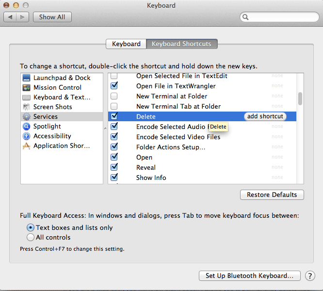 services-add-delete-shortcut-key