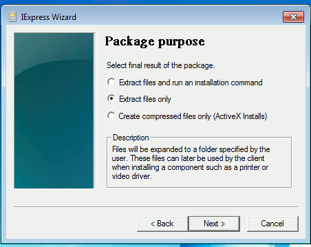 windows-express-extract-files-only