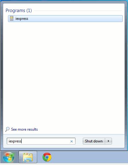 windows-run-iexpress