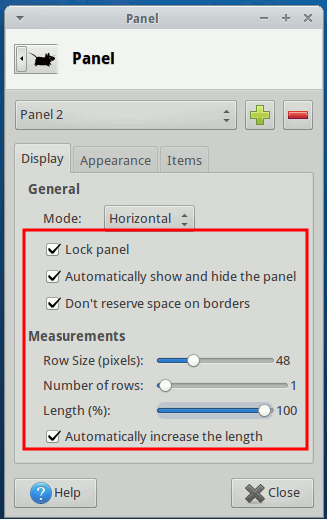 xfce-new-panel-display-configuration