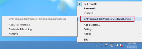 fullthrottle-settings-program