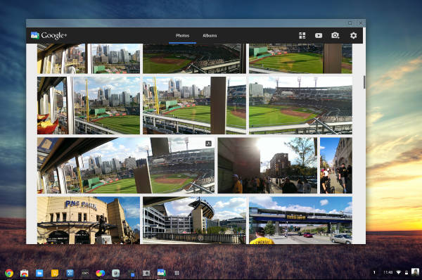 Chrome packaged apps - Google-Plus-Photos