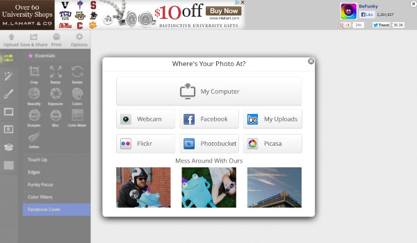 Online Image Editor - BeFunky