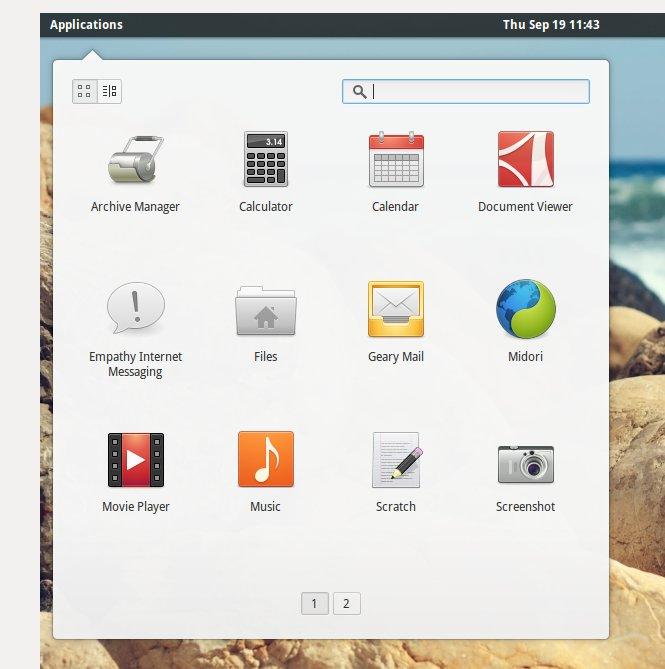 elementaryos-applications-menu