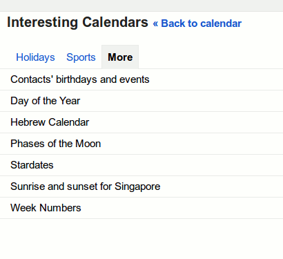 How to Display Alternate Calendar in Google Calendar