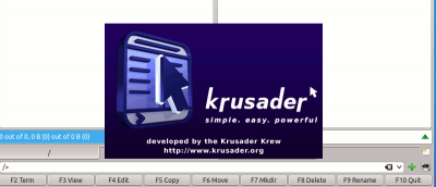 Use Krusader For Better File Management in KDE Desktop