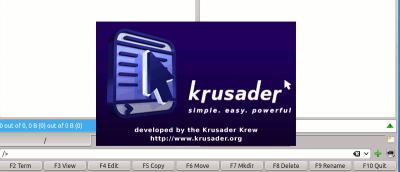 Use Krusader For Better File Management in KDE Desktop