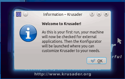 krusader-first-run