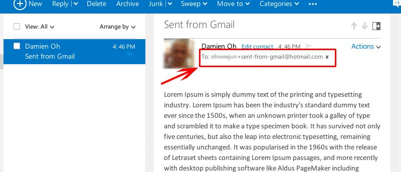"Make Use of ""+"" Aliasing in Outlook.com"