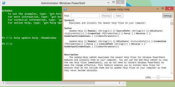 powershell show help window
