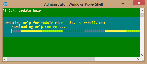 powershell update help system
