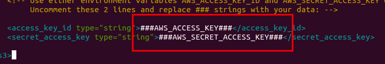 riofs-aws-acccess-key