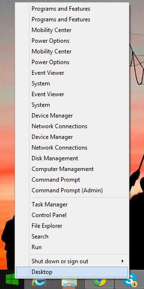 start-context-menu