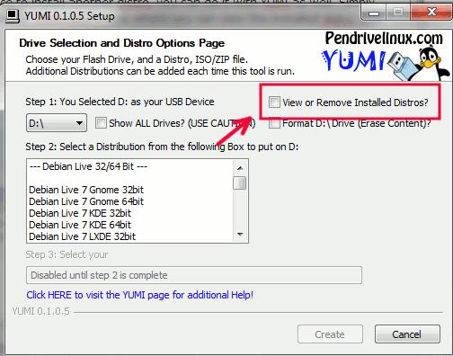 yumo-remove-installed-distro-box