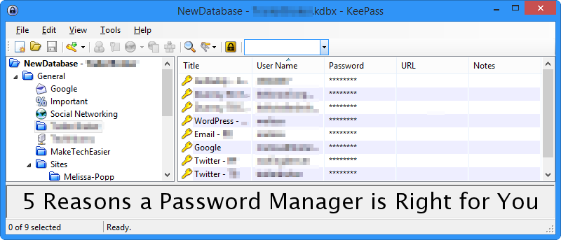 5 Reasons Why You Should Use a Password Manager
