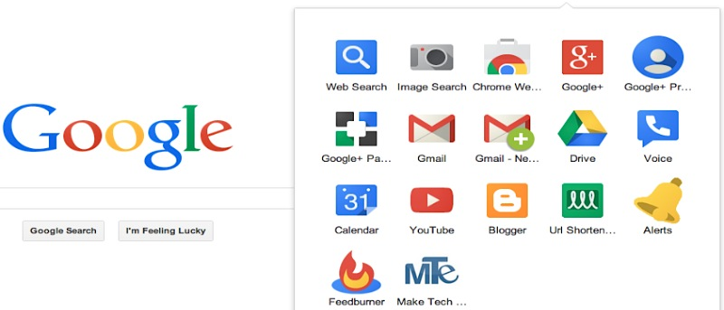 Customize Google's New App Launcher and Add Custom Shortcuts