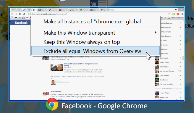 better desktop tool exclude window