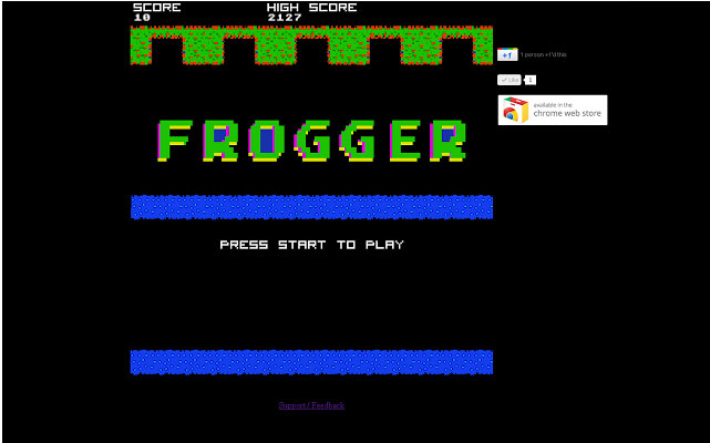 chrome-frogger