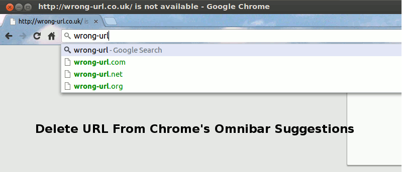 How to Delete a URL From Chrome's Omnibox Suggestions