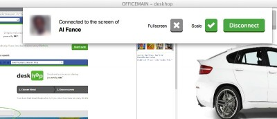 Use Deskhop to Share Your Screen with a Facebook Friend