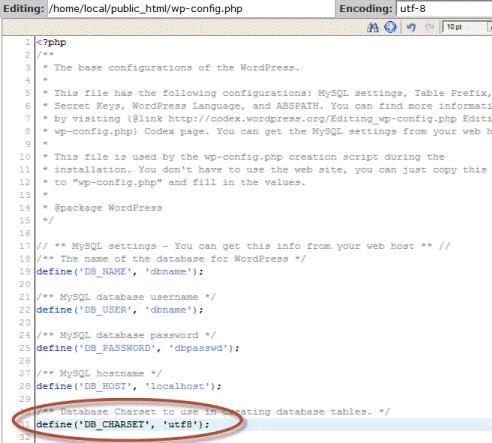 encoding-config