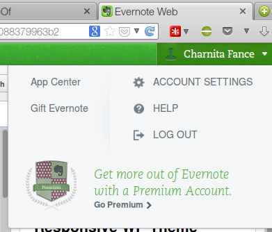 Click on your name in the top right corner and go to Account Settings.