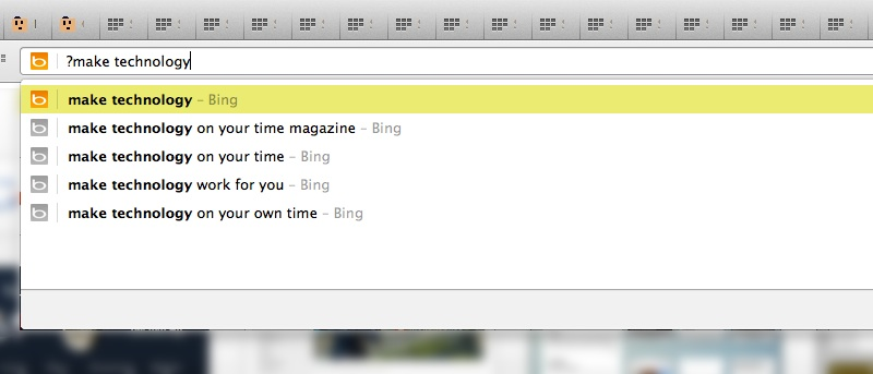 Forget Everything Else: Exclude Browsing History When Searching via Chrome's Omnibox