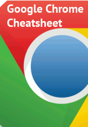 Google Chrome Keyboard Shortcuts Cheatsheet